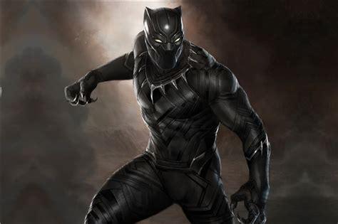 custom canvas art black panther marvel wallpaper super