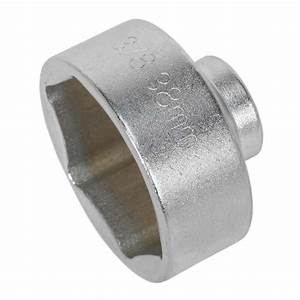 Sealey Low Profile Oil Filter Socket 38mm 3  8 U0026quot  Square