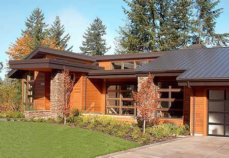 Northwest Contemporary Home Plans