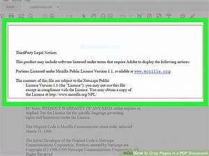 4 easy ways to crop pages in a pdf document with pictures for Pdf document versions