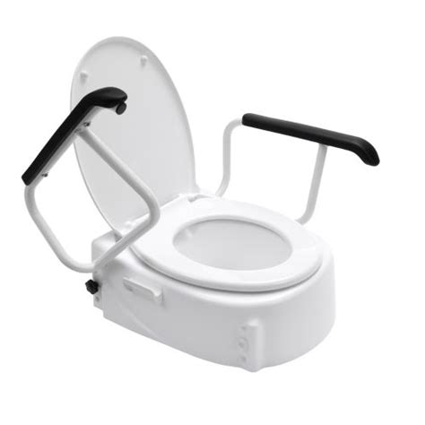 water arm toilet toilet raiser with arm rests sports supports mobility