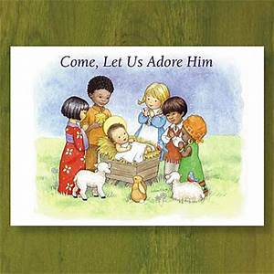Children of the World - Christian Christmas Card - Abbey ...