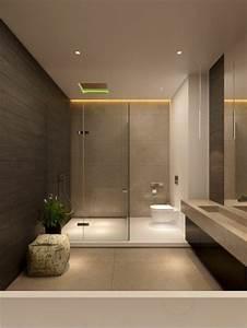 Salle De Bain En L : comment cr er une salle de bain contemporaine 72 photos ~ Melissatoandfro.com Idées de Décoration