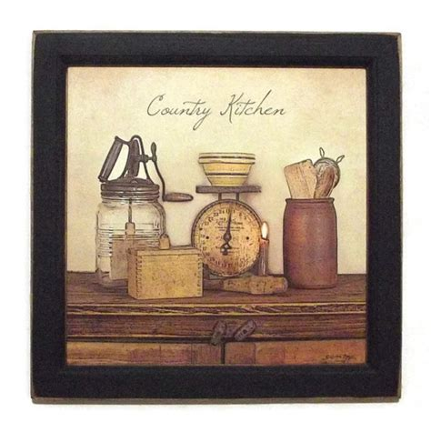Primitive Kitchen Wall Decor by Country Kitchen Primitive Home Decor Kitchen Decor Home