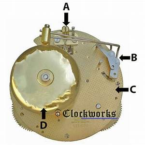 Hermle Clock Movement Parts 130