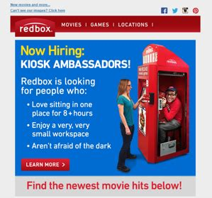 Hiring Kiosk by No Kidding Our Favorite 2016 April Fools Day Email Caigns