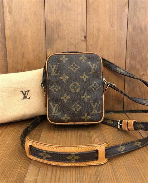 authentic louis vuitton monogram mini danube crossbody bag etsy louis vuitton crossbody bag