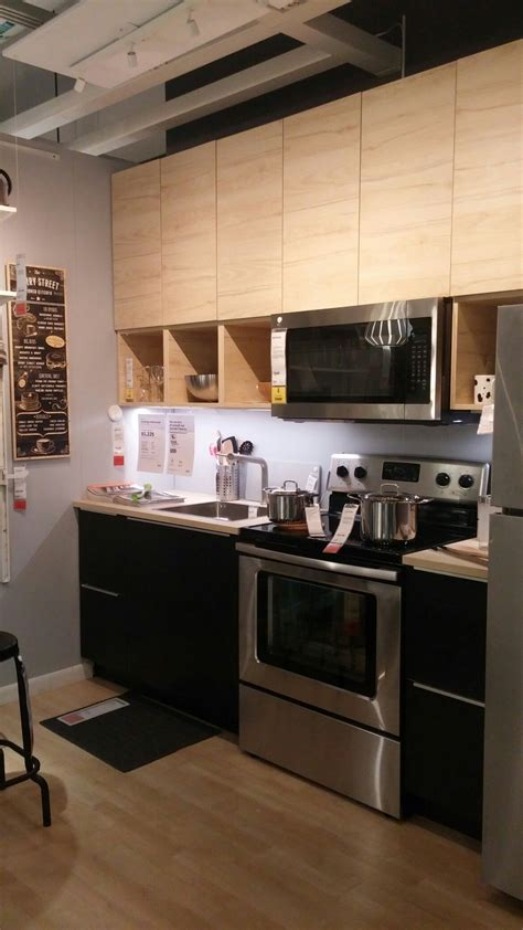 Ikea Askersund Top, Tingsyrd Bottom With Ash Countertop