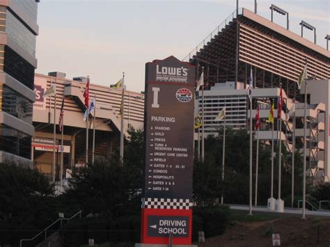 lowes nh concord nc lowe s motor speedway in concord nc photo picture image north carolina at