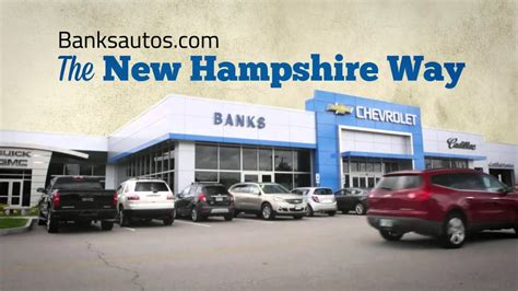 banks chevrolet concord manchester nh dealer youtube