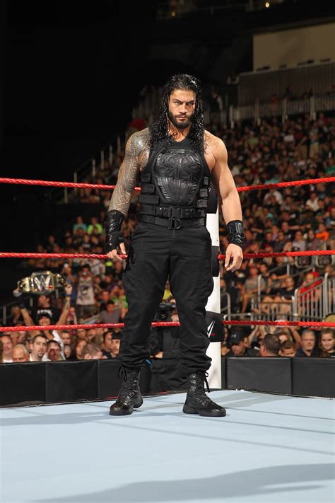 reason  wwe planned  roman reigns  enter