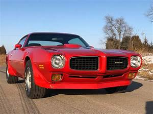 1973 Pontiac Trans Am 75788 Miles Buccaneer Red Coupe