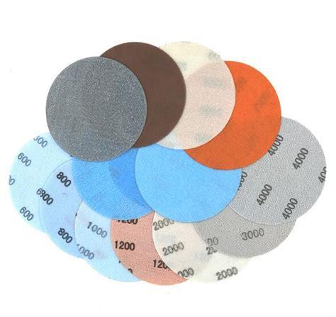 pcs   hook loop  sandpaper sanding disc