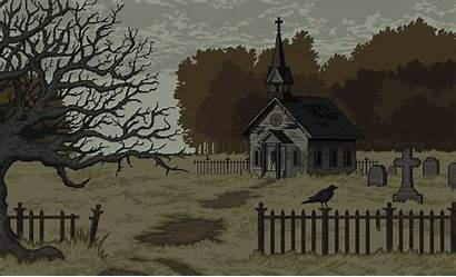 Pixel Imgur Church Abandoned Oc Album Pixelart