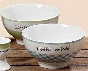 Schüssel Set Porzellan : porzellan sch ssel l ffel mich schale landhaus 2er set ~ Eleganceandgraceweddings.com Haus und Dekorationen
