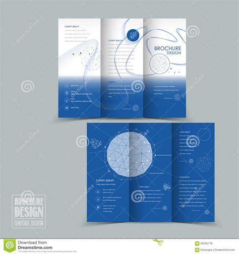 Simplicity Tri Fold Brochure Template Design Stock Vector Simplicity Tri Fold Brochure Template Design Stock Vector