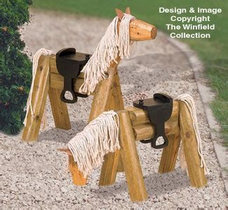 yard garden projects landscape timber horse