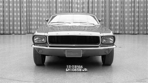 1966 Ford Mustang Mach I Concept Front Hd Wallpaper 6