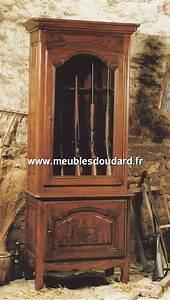 Armoire A Fusil En Bois : meuble de rangement en ch ne pour fusils ~ Dailycaller-alerts.com Idées de Décoration