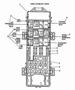 1990 Jeep Cherokee Relay Diagram