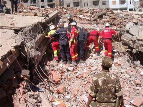 tremblement de terre en alg 233 rie mai 2003 l unite mobile