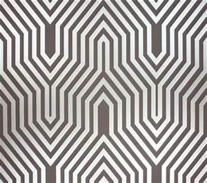 Art Deco Print Wallcovering - Wallpaper - minneapolis - by