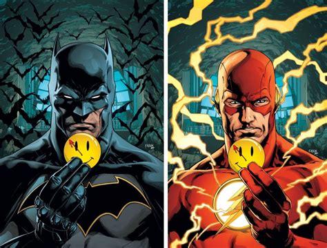 batman   flash explore  rebirth mystery
