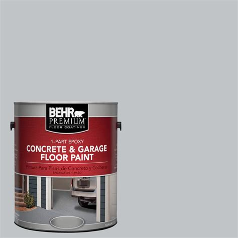 behr garage floor epoxy behr premium 1 gal n510 2 galactic tint 1 part epoxy