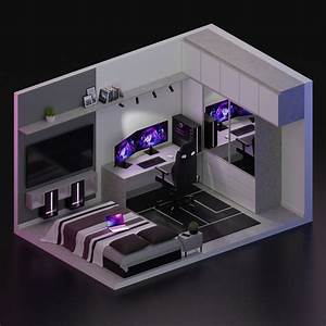Cool, 3d, Gaming, Set