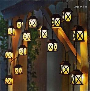 Lichtschläuche Lichterketten : led lichterkette laterna laternen laterne 140 cm neuware in m bel wohnen beleuchtung ~ Eleganceandgraceweddings.com Haus und Dekorationen