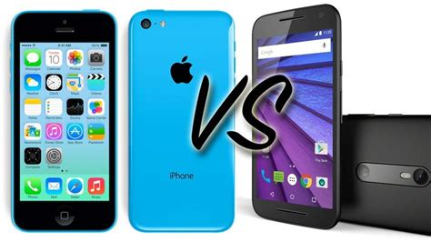 iphone vs smartphone 2015 moto g vs iphone 5c smartphone comparison review