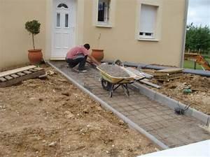 Faire Une Chape Exterieur : faire dalle beton exterieur id es d coration int rieure ~ Premium-room.com Idées de Décoration