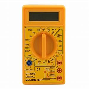 Professional Dt830b Lcd Display Digital Multimeter Ammeter