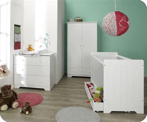 chambre bebe com chambre bébé complète oslo blanche chambre bébé design