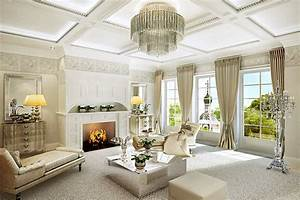 Classic Luxury Living Rooms As The Key To Success - 17 ...