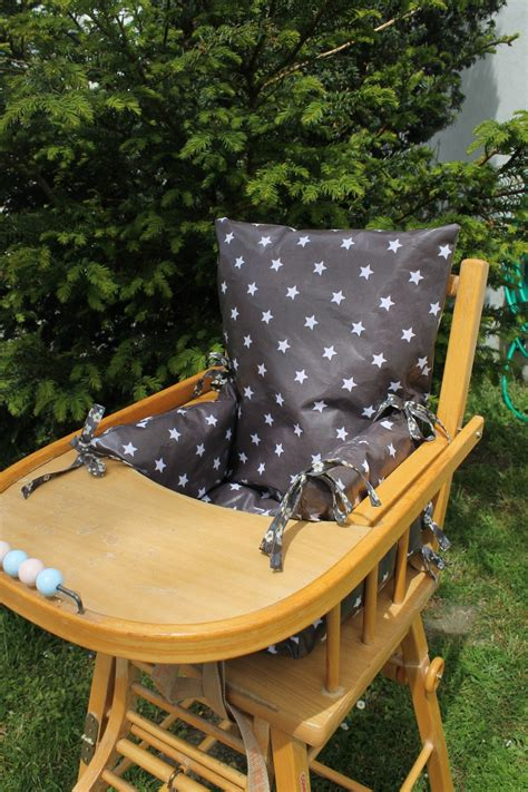 chaise haute pour poupon coussin chaise haute combelle bois advice for your home