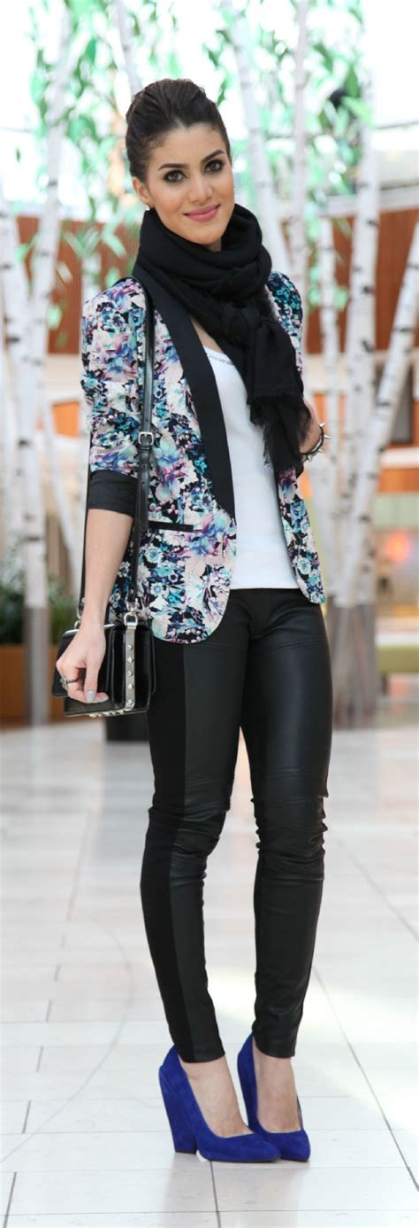 25+ best ideas about Floral blazer outfit on Pinterest | Floral jacket Gray blazer and Grey ...