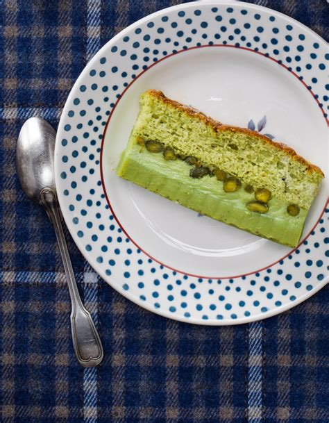 la cuisine de stephane gâteau magique à la pistache pour 6 personnes recettes