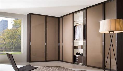 bedroom modern light brown contemporary wardrobe