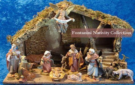 yonderstar outdoor nativity fontanini nativity wooden