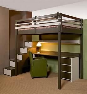 Lit Mezzanine Dressing : travailler chez soi espace loggia ~ Dode.kayakingforconservation.com Idées de Décoration