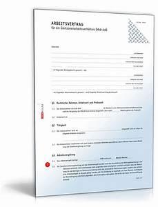 450 Euro Job Urlaubsanspruch Berechnen : arbeitsvertrag gleitzone rechtssicheres muster zum download ~ Themetempest.com Abrechnung