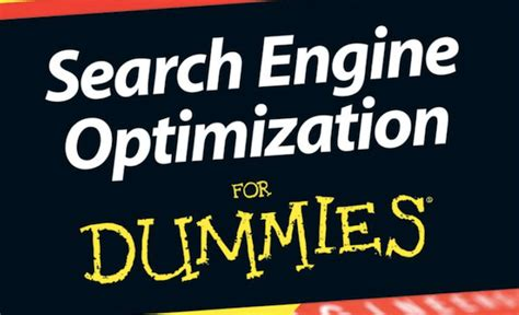 Seo For Dummies by Seo For Dummies Few Points Newbies Need To Learn And