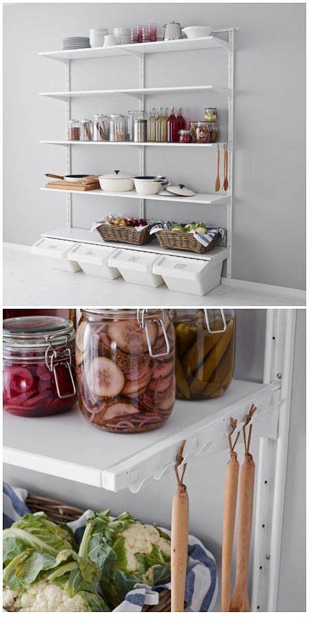 inspiration cuisine ikea ikea algot storage system ikea ideas decor