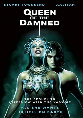 amazoncom queen   damned stuart townsend aaliyah