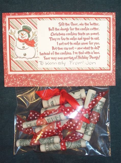 christmas dough gift idea loves pinterest