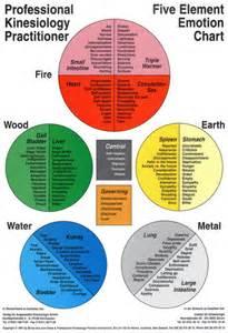 5 Elements Emotions Chart