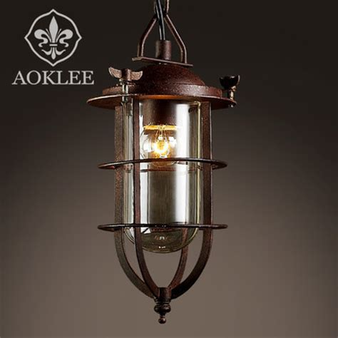 american country lighting vintage pendant light loft
