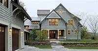 shingle style homes Shingle style home drive court to entry elevation ...