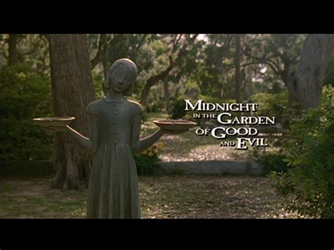 midnight in the garden of and evil statue southern outdoor cinema 187 archive 187 filmed in